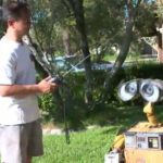 Loved WALL-E so much, he built a real one.