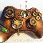 Xbox 360 steampunk game control.