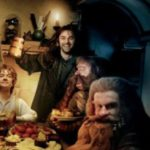 Four little hobbits.