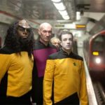 Star Trek: The Next Generation invades London.