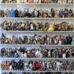 World's largest Star Wars figure collection, currently $8k in online auction.