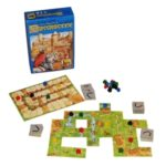 Carcassonne, designed by Klaus-Jurgen Wrede, artist Doris Matthaus (board game review)