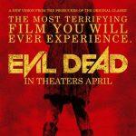Evil Dead… evil poster.