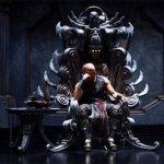 Riddick… alone.