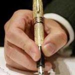 By A Stoke Of A Pen : a short story by: GF Willmetts.