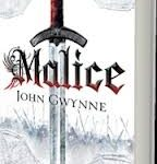 Malice (The Faithful And The Fallen book 1) by John Gwynne (book review).