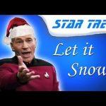 Let it snow, commands Trek's Picard (kind-of).