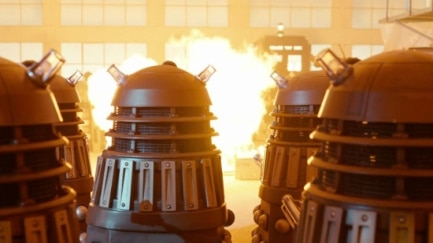 By order of the Daleks, all humans must stay indoors (weird news).