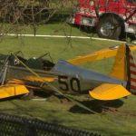 Harrison Ford crash lands dead plane on 8th hole.