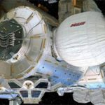 Blow-up Space Stations? NASA's bouncy castle in orbit.