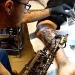Steampunk prosthesis for steampunk tattooing!