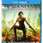 Resident Evil: The Final Chapter (2016) (DVD film review).