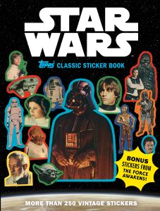 Star Wars Topps Sticker Book_Cover