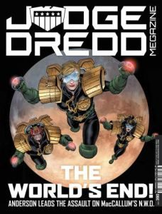 Jason Kingsley interview: the future of the Dredd TV series (video).