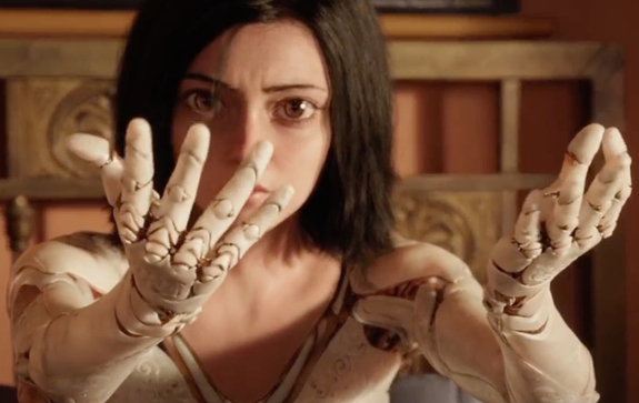 Alita Battle Angel (trailer): when live-action replaces anime.