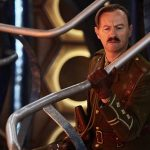 Doctor Who: Mark Gatiss interviewed about playing The Captain in the Dr Who Xmas special.
