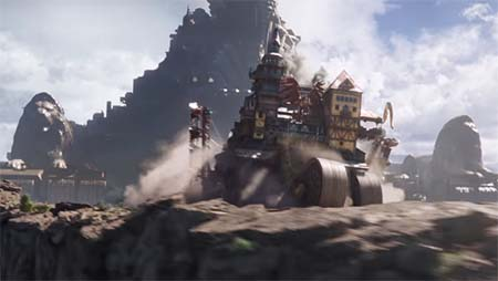 Mortal Engines (brilliant new trailer).