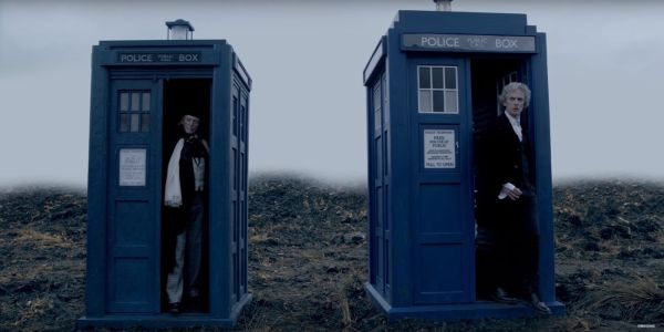 twice-upon-a-time-first-doctor-TARDISes