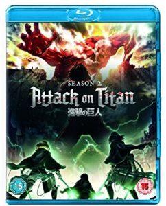 Attack On Titan – Season 2 (2018) (Blu-ray anime series review