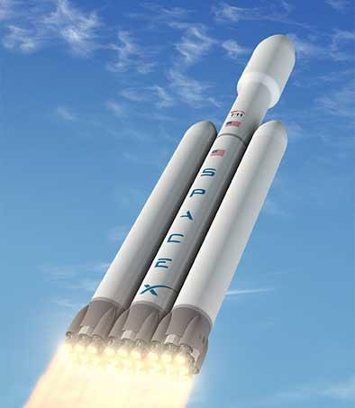 SpaceX Falcon Heavy: it's the freakiest show.