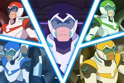 Voltron Legendary Defender makes season five on Netflix.