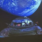 Visit the live-view of the first car in space!