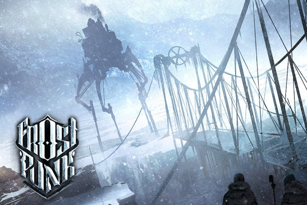 Frostpunk - the steampunk city-builder game.