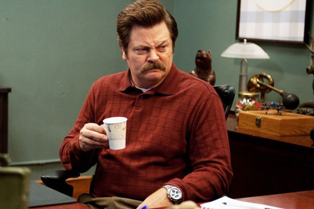 Good Omens signs up Parks and Recreation star Nick Offerman.