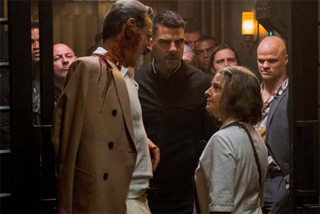 Hotel Artemis (new cyberpunk movie trailer).