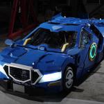 Transformers-style robots: now as rideable amusement park rides!