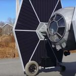 Tie Fighter car … can you feel its extreme Force?