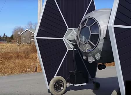 Tie Fighter car ... can you feel its extreme Force?