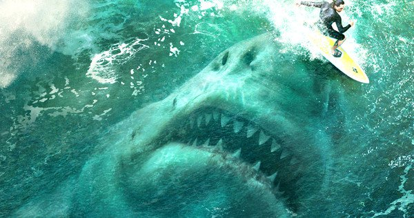 The Meg (trailer): Jason Statham, dinosaur hunter?