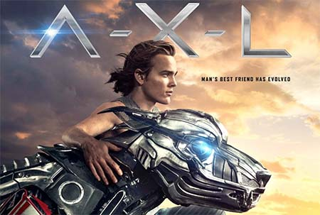 Axl (YA scifi movie trailer).