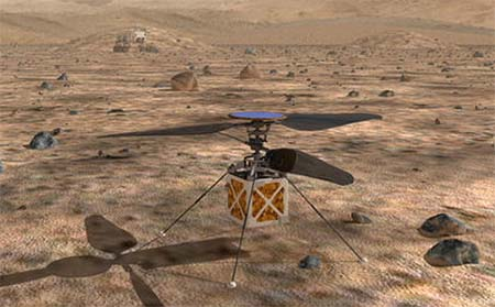 Mars, here we come (science news).