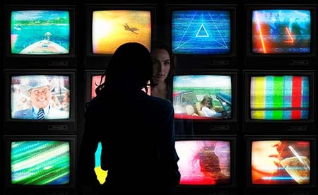 Too much TV is bad for Wonder Woman
