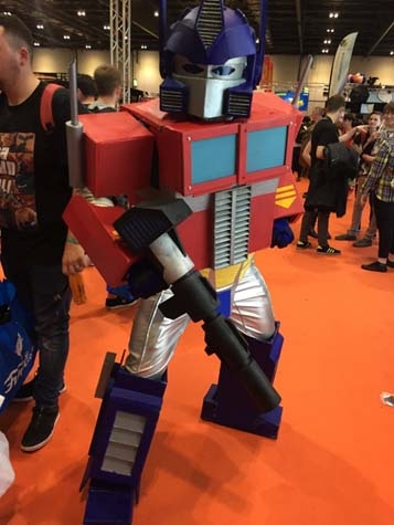 Transformers at Comic-con London.