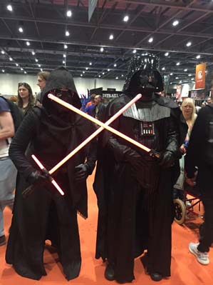 Two Vaders, twice the fun.
