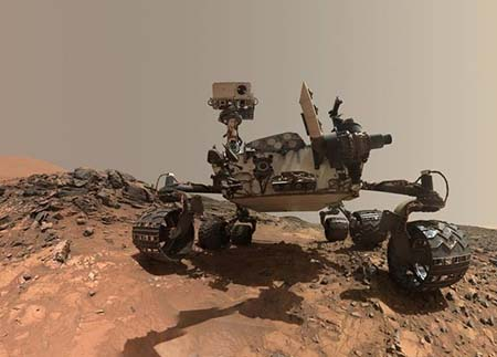 NASA will look for Martian life with 2020 Rover.