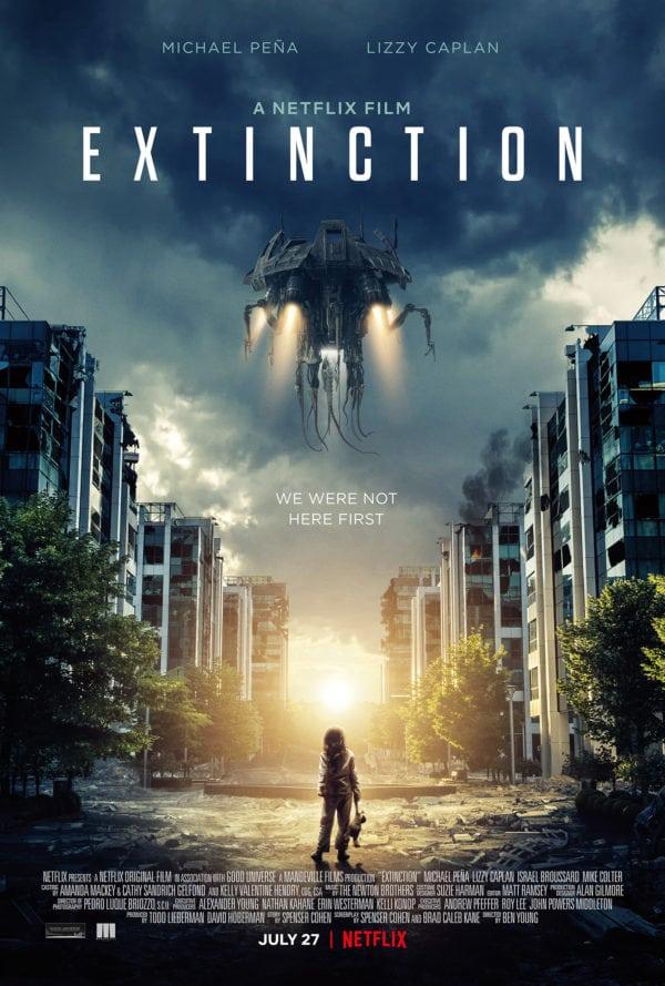 Extinction (new Netflix-created alien invasion series).