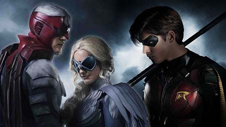 Titans (2nd trailer: Netflix TV series).