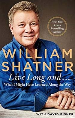 William Shatner interviewed (audio interview).
