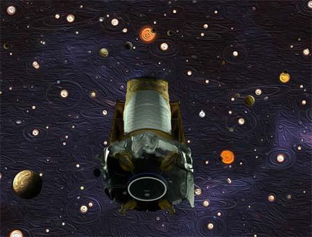 Goodbye Kepler, planet-hunter par excellence.