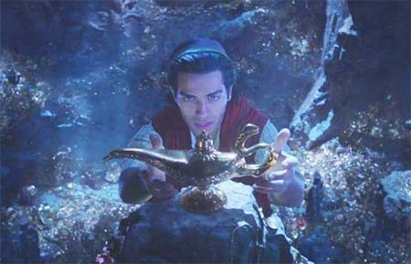 Aladdin (Disney's live-action movie reboot: first trailer).