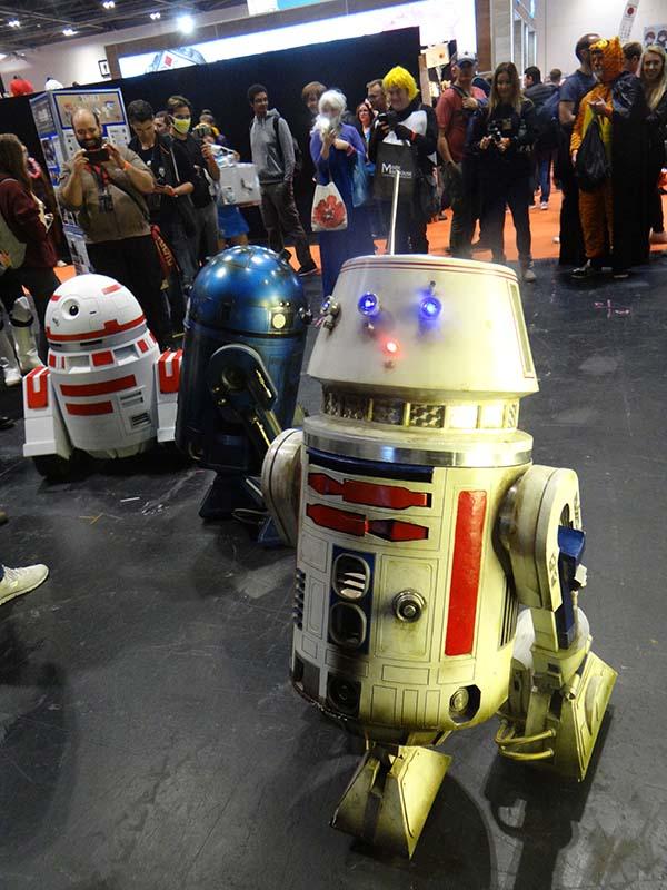 Droid race.