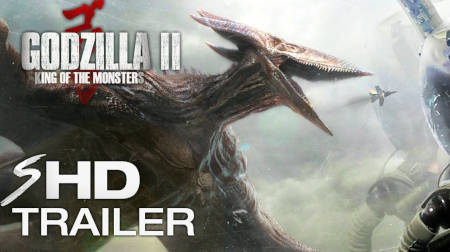 Godzilla 2 King Of The Monsters (new trailer for this monster movie).