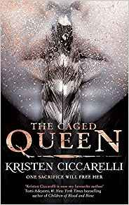 The Caged Queen: Iskari book 2 by Kristen Ciccarelli (book