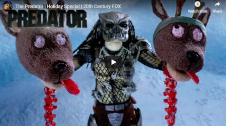 The Predator versus Santa.