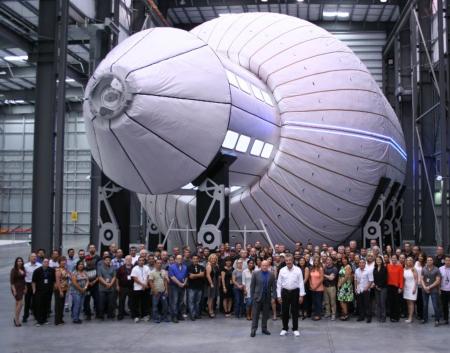 Bigelow Aerospace: building zeppelins in space.