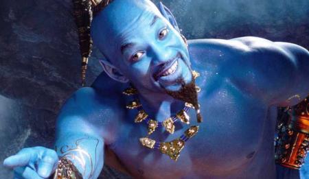 Aladdin live action movie (trailer).